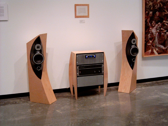 Custom Speaker Designed and built by Pender Audio